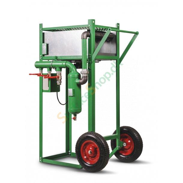 ACE-1 efterkøler 8 m³/min. med 0,3 kW. elektrisk ventilation